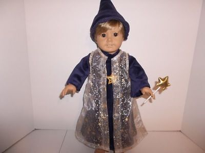 Wizard Halloween Costume Doll Clothes made for 18