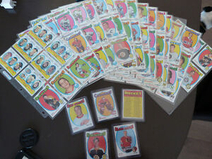 1971-72 topps serie complete 1 a 132 tres belle