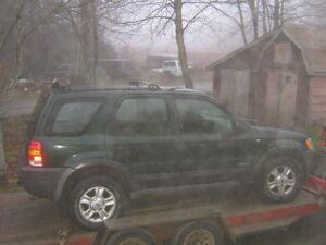Parting out Ford Escape