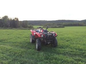 2005 Yamaha grizzly 660 with tracks Kingston Kingston Area image 2