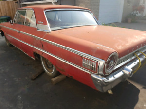 Parting out 1963 ford galaxie 2dr