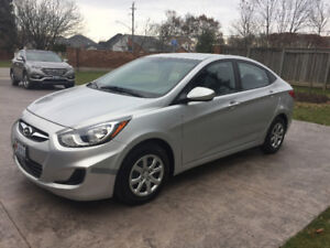 2014 Hyundai Accent Sedan, One owner