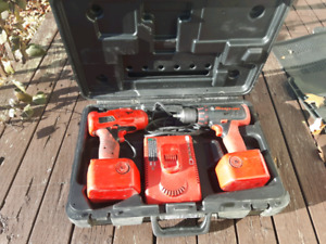 Snap on impact / drill