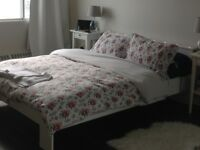 Queen-size Ikea bed for sale