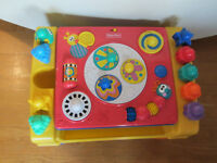 Fisher Price Interactive activity Table Sounds & Music