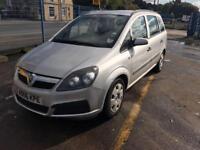 Vauxhall Zafira 1.6i 16v Expression 7 SEATER - 2006 06-REG - 9 MONTHS MOT