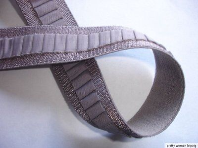 10m Gummiband 0,28€/m taupe Trägerband 20mm breit IG8