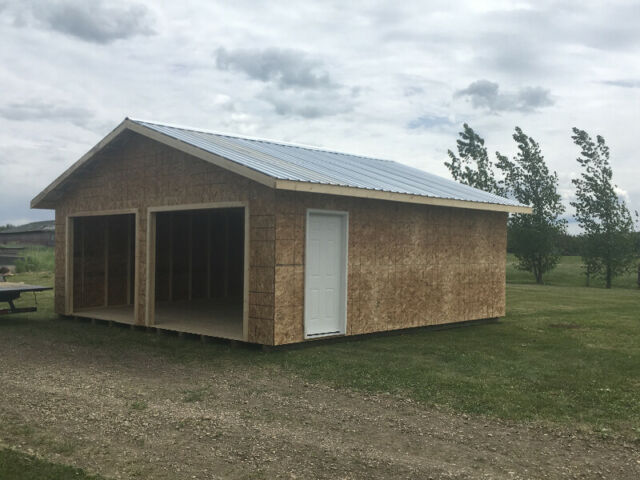 Free 8 Roll Up Door With Ever 16x24 Sheds Outdoor