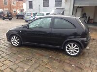 Vauxhall corsa with full leather