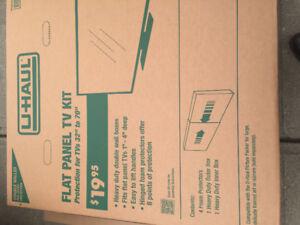 Flat Panel TV Moving Box