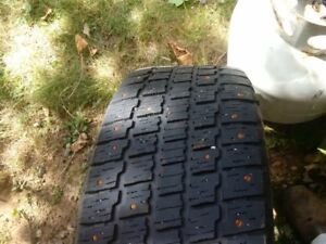VW rabbit 205 55 16 cooper winter tires with studs