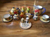 Mediterranean themed tapas kitchen set