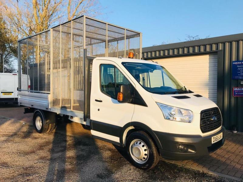 f2fbd8b6a796be FORD TRANSIT 350 2.2 125PS L4 SPLIT COMPARTMENT CAGED DROPSIDE