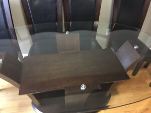 7 piece dining table set new