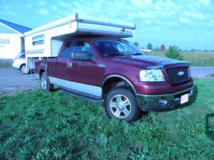 camper truck combo or sell individually