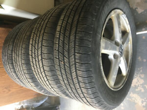 Michelin Tires (4 with Rims)
