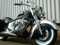 New Indian Chief Vintage...Two tone Star silver/Black...Instock...£18999.00