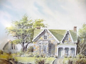Rustic Country House by Art Legiehn Signed Artist Proof Stratford Kitchener Area image 2