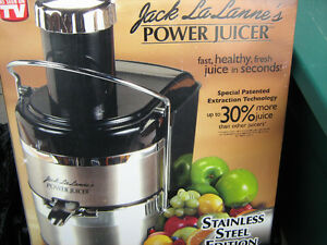 Brand New Stainless Steel Power Juicer