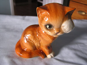 Vintage china cat figurine by Goebel West Germany