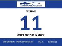 2010 10 FIAT 500 1.2 PURO2 3D 69 BHP