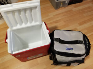 Coolers and water containers