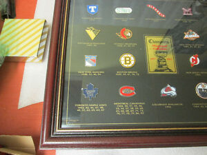 1997 NHL STANLEY CUP CHAMPIONS FRAMED PIN COLLECTION! LEAFS.... Peterborough Peterborough Area image 7