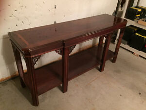 Selling hand made sofa table