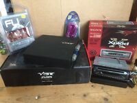 Sony car stereo and Vide Amp
