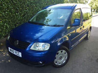 2010 10 VOLKSWAGEN CADDY MAXI 1.9TDI 7 SEATER BUS MAXI LIFE ONLY 36000 MILES !!