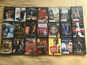 21 DVD lot for $15