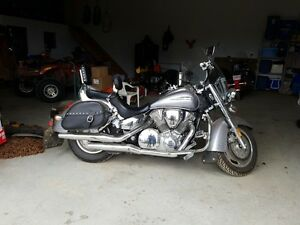 REDUCED PRICE EXCELLENT CONDITION HONDA TOURING BIKE MUST SELL