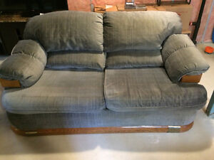 Couch and chair $75.00 for pick up in Leduc.