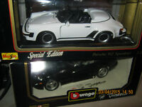 1993 burago viper new in box and porsche