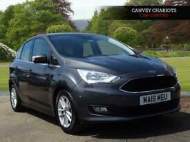image for 2018 Ford C-MAX 1.0T EcoBoost GPF Zetec (s/s) 5dr MPV Petrol Manual