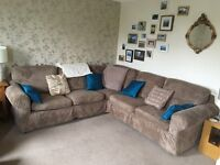 Corner Sofa (plus arm chair optional)