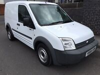 Ford transit connect T200 l75 2008 50000+ warranted mileage no vat £2995 cheapest