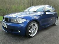 07/57 BMW 118D M SPORT 3DR HATCH IN BLUE WITH SERVICE HISTORY