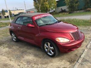 2005 Chrysler PT Cruiser GT décapotable!