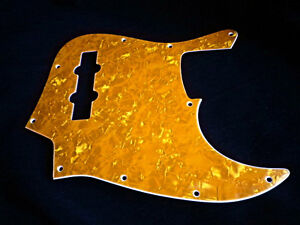 Pickguard J Bass Orange/Amber Pearl