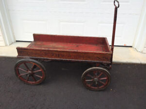 Superbe charette antique SPEED WAGON - Superb Antique SPEEDWAGON