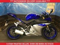 YAMAHA YZF-R125 YZF R125 ABS BRAKES GENUINE LOW MILEAGE 2015 15