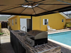 Ocho Rios Vacation rental with backyard pool and bbq