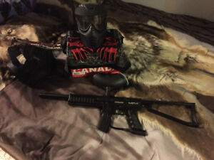 Spyder Paintball Marker Bundle
