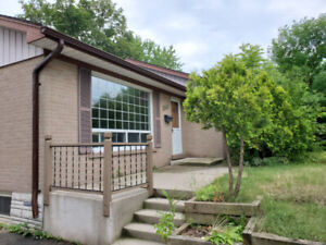 Extensively Renovated Bungalow In Oakville for Rent