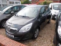 2011 Vauxhall Meriva 1.4 16v Exclusive L@@k AT THIS DEAL FREE 12 DEAL ON THIS