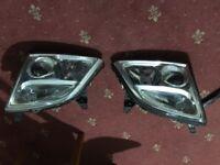 Vauxhall vectra headlights