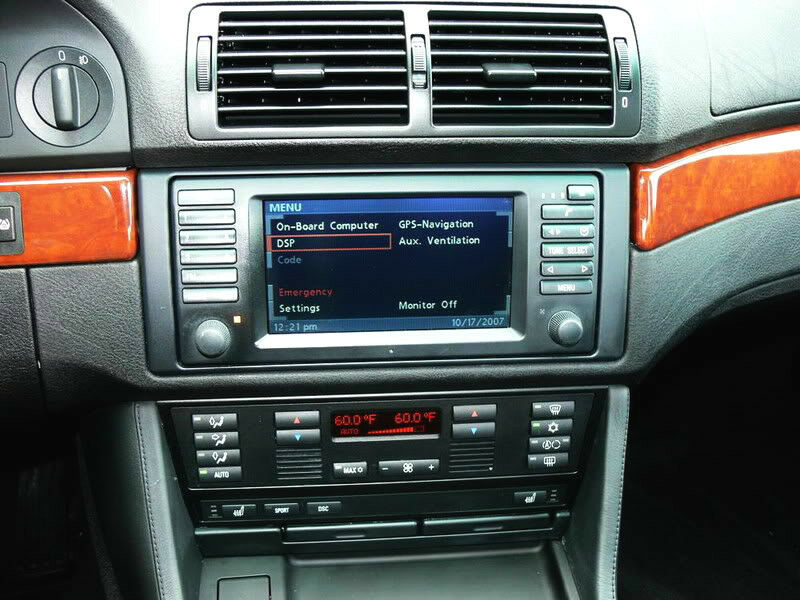 Bmw Navigation 16 9 Monitor E38 740i E39 M5 E53 X5 1999