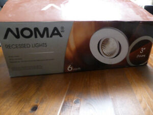 """3 Noma Recessed Lights, 3"""" with bulbs"""