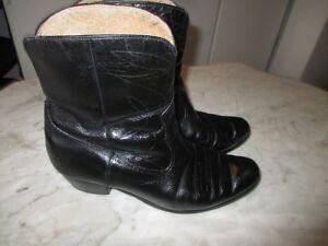 bottes western style Beatles, années'70, gr. 8 homme